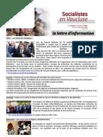 151005 - Lettre d'Info PS84