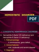 4. Hemostatic Disorder