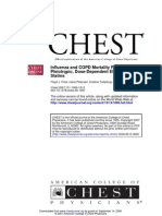 Influenza and COPD Mortality Protection as Pleitropic Dose Dependent Effect of Statins