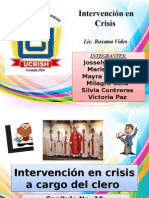 Intervencion en Crisis Exposicion