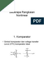 Rangkaian Nonlinear