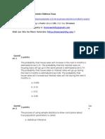 STAT 125-HK. Business Statistics Midterm Exam
