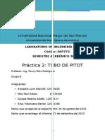 Informe Pitot