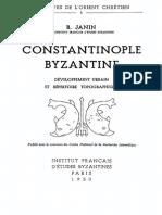 [Raymond Janin] Constantinople Byzantine