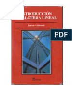 Introducción Al Álgebra Lineal - Larson Edwards