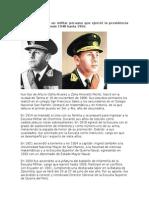 Biografia Manuel Odria