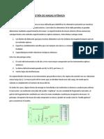 Espectrometría de Masas Atómica