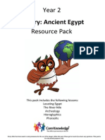 History Resource Pack- Year 2- Ancient Egypt