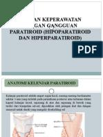 Askep Hiperparatiroid  Hipoparatiroid