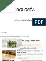 Hidrología - Clase 1