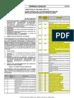 Directiva 002 2006 Mtc 15 Comb Especiales