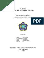 Proposal Pelatihan Kerja Pada Industri