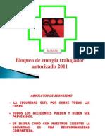 Bloqueo de Energias Peligrosas 2015