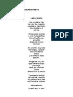Poesías Para Segundo Básico