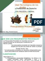 Procesal Laboral - Presupuesto Procesales