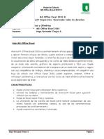 Guia de Usuario MS Excel 2010