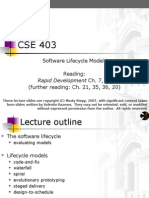 03-Software Lifecycle Models
