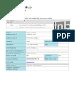 Supplier Setup Request Form TNBT_Kanish