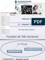 Cálculo Diferencial e Integral 2 -Unidade 8- Integral Tripla