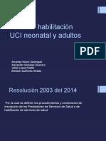 Proceso Habilitación UCI