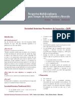 Información sobre las Sociedades Anónimas Promotoras de Inversión