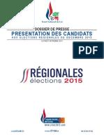 Dossier de Presse FN RBM LOT- Élections Régionales 2015