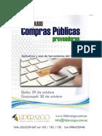 Seminario Compras Publicas Proveedores Octubre 2015