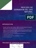 Proceso de Expansion Del Gas Natural