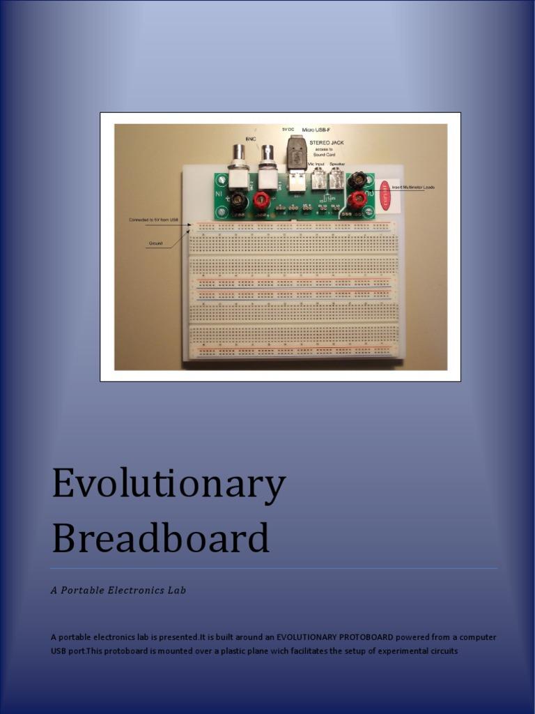 Portatil Electronics Lab Electrical Connector Equipment Voltmeter Using Arduino Electronicslab