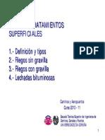 6.6 Tratamientos Superficiales