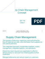 The Supply Chain Management Concept 1a