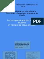 Aplicacion Princ.mecanica de Rocas Hudson 2010