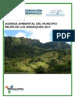 Agenda Ambiental 2015 Belén de los Andaquies
