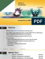 CFX-Intro 15 L01 Introduction