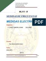 Informe de Medida de Frecuencias 2015 II