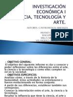 arte ciencia tecnología y arte