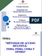 Teoria Comunicación Tdma, Fdma, Cdma y Ofdma