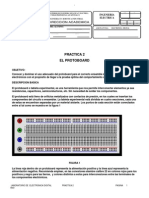 Practica 2 El Protoboard 1