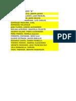 Relación de Alumnos 2014