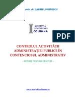 Curs Control Si Contencios Administrativ Moinescu 2015