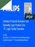 Datasheet Interface I²C Philips