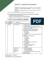 Programa Școlară - Psihologie Generală
