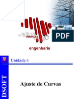 Cálculo Numérico - Unidade 6 - Ajuste de Curvas
