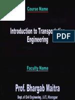 01 Transportation Engineering