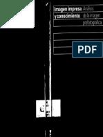 Imagen Impresa y Conocimiento Analisis Da Iamgem Prefotografica