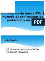 RTU comunicacion