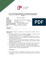 Practica de Legislacion Financiera y Bca Internacional