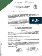 Reglamento Trabajo Final Instrumentacion y Composicion - Musica