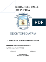 Odontopediatria - Supernumerario