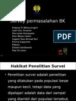 Survey Permasalahan BK 1